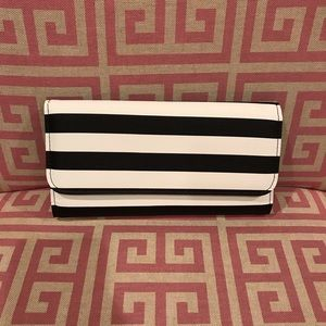 Slim Striped Wallet by Kut from the Kloth